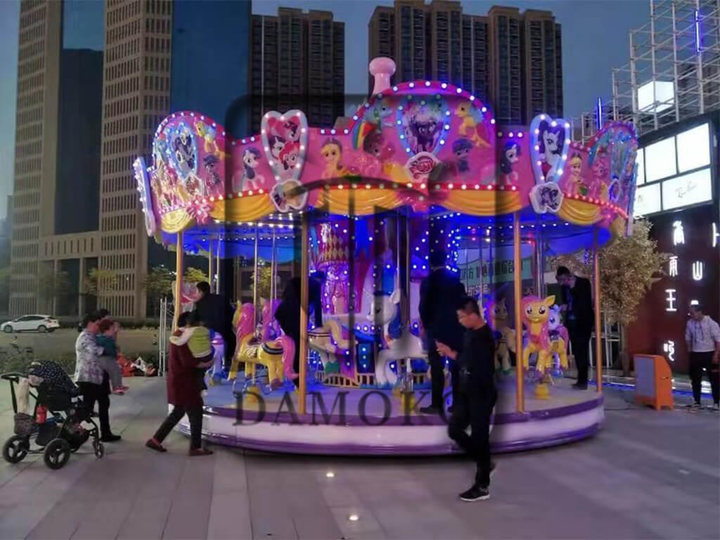 2020 new carousel rides