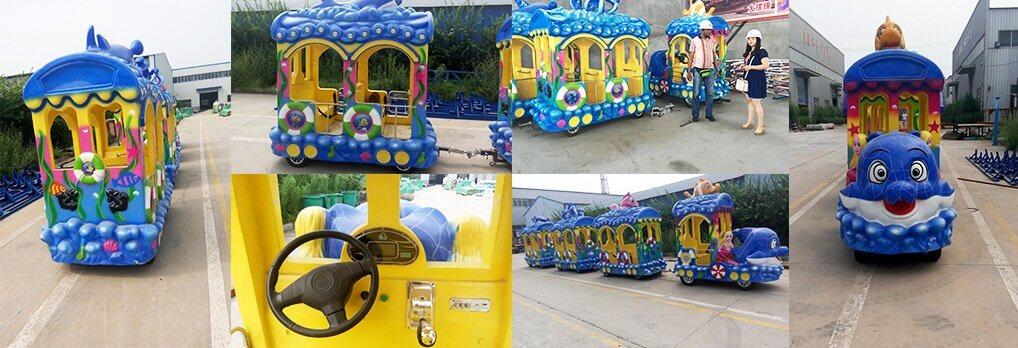 Ocean Theme Train