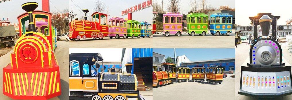 retro train for sale
