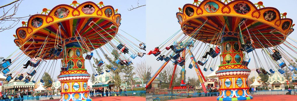 Wave Swinger Flying Chair Rides