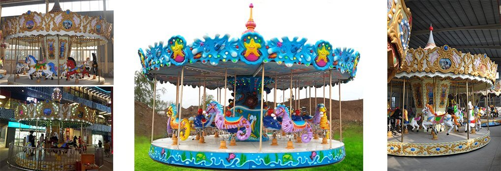 high quality 16 seats carousel for sale