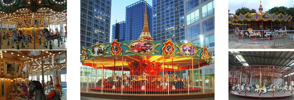 36 seats carousel