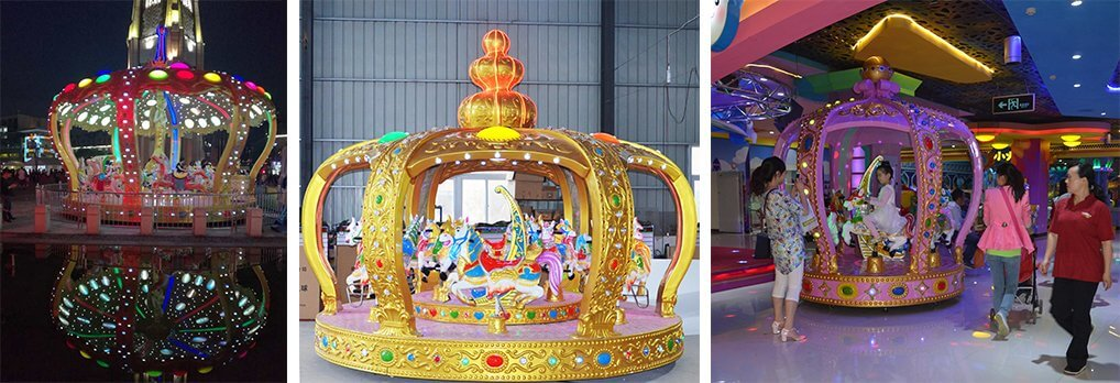 new design carousel supplier in China