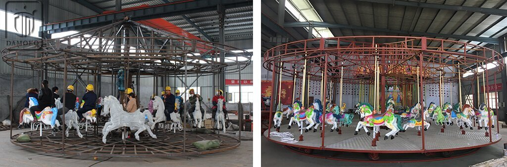 carousel structure