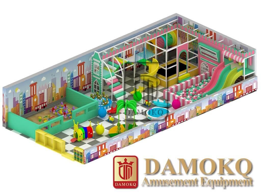 Candy indoor playground equipment