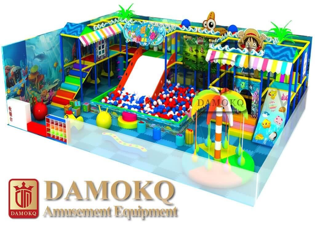 cheap indoor playground equipment