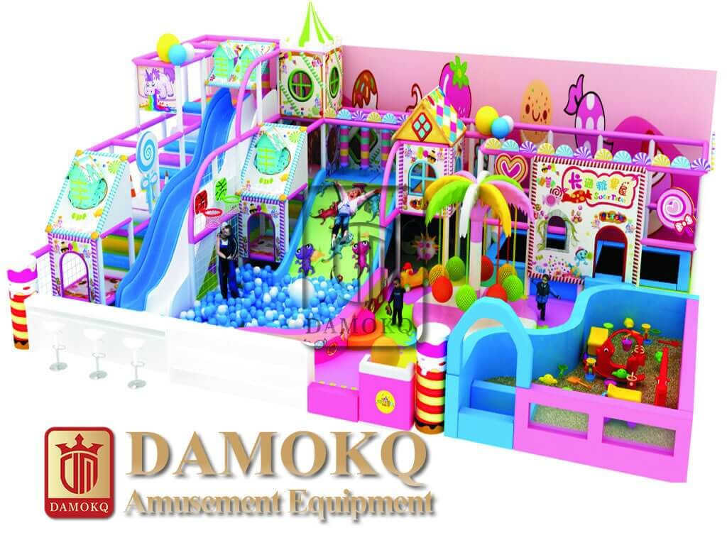 soft indoor playground equipment