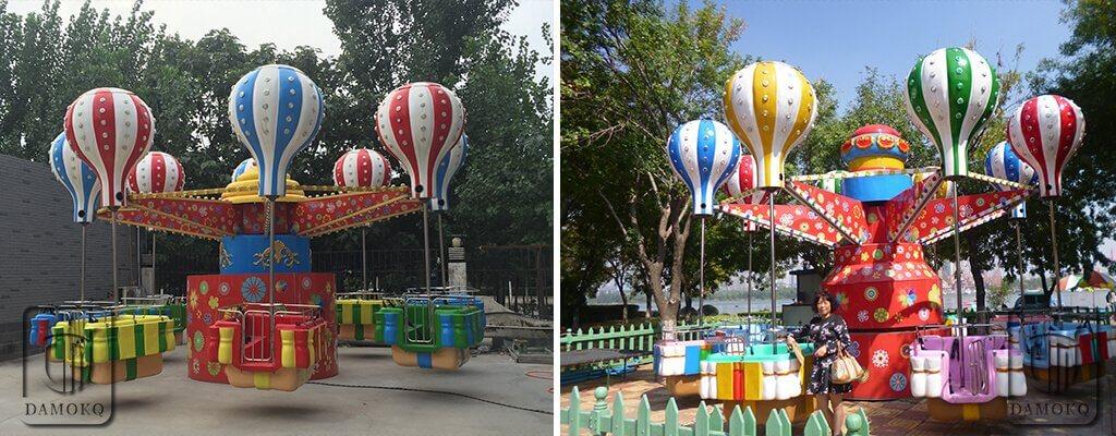 samba balloon ride manufacturer