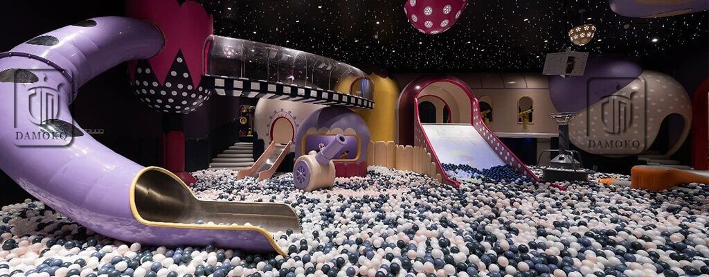 indoor play center-slide and ball pool