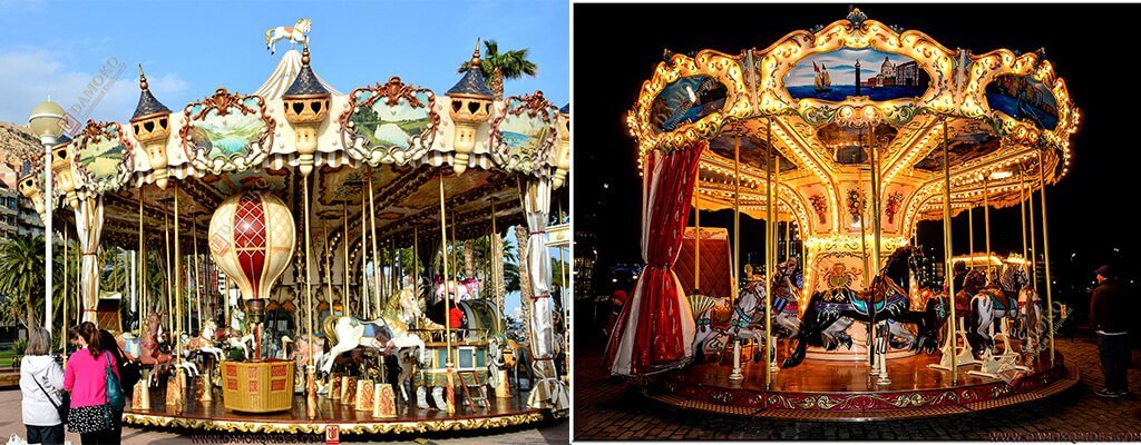 buy carousel rides from professional carousel manufacturer