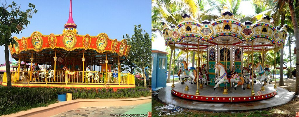 new design carousel rides