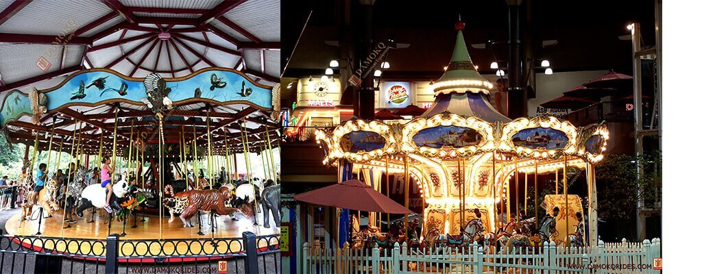 24 seats carousel rides for sale