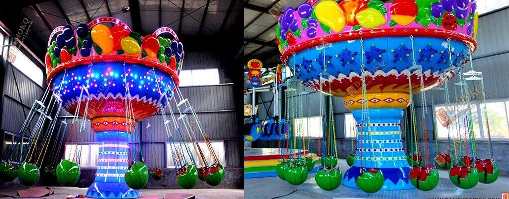 fair rides flying chair