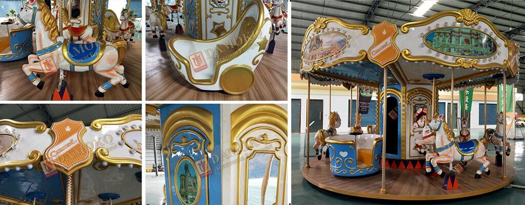 Kiddie Carousel Rides for Sale