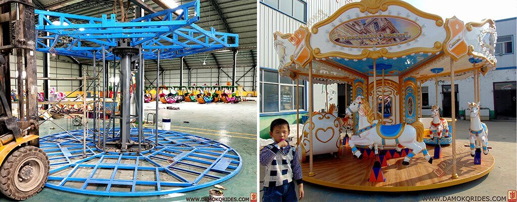 12 seats carousel rides for sale