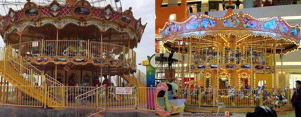 double decker carousel