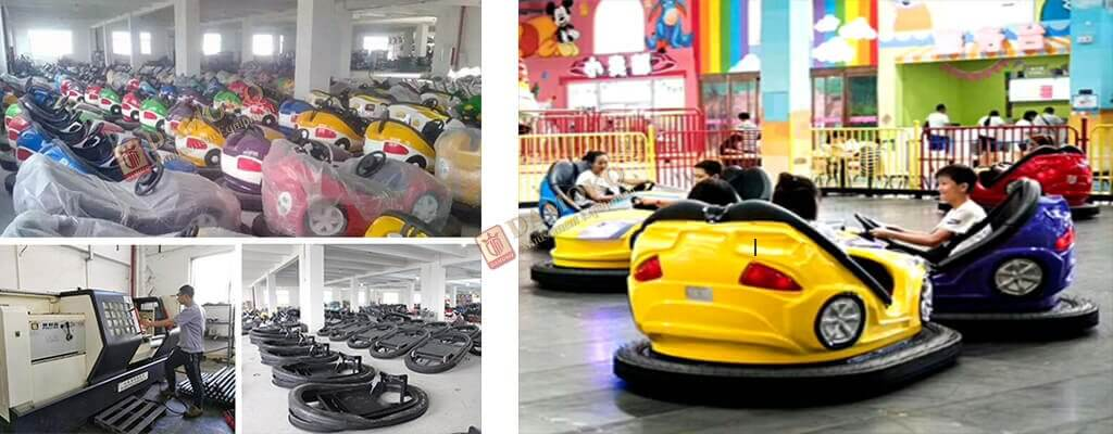 cheap price bumper car for sale from Damokq