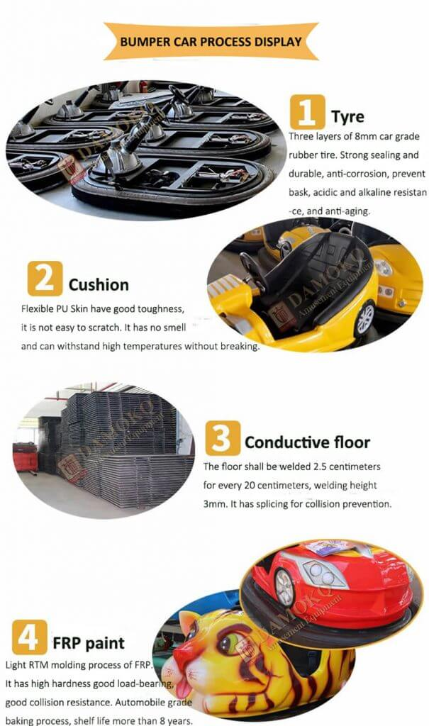 bumper car process with high quality control