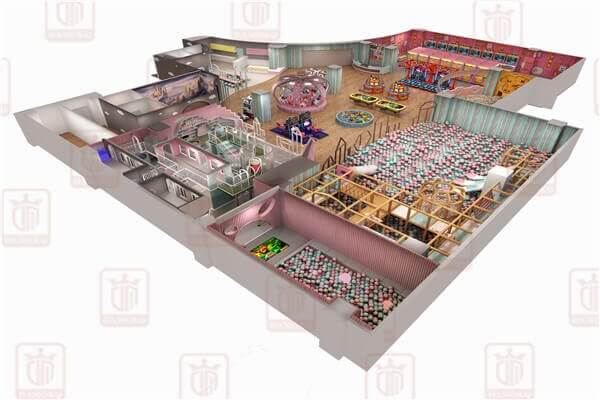 commercial soft play indoor playground
