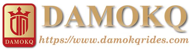DAMOKQ Amusement Rides Logo