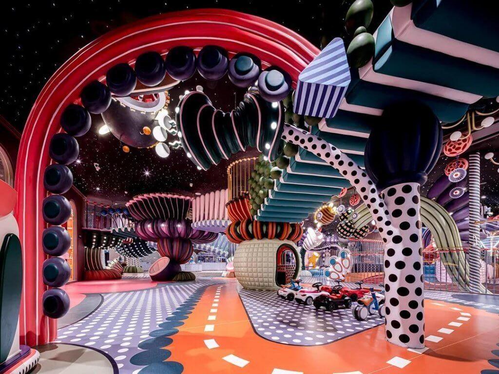 soft indoor playground business center